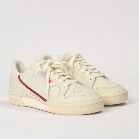 adidas continental 80 off white