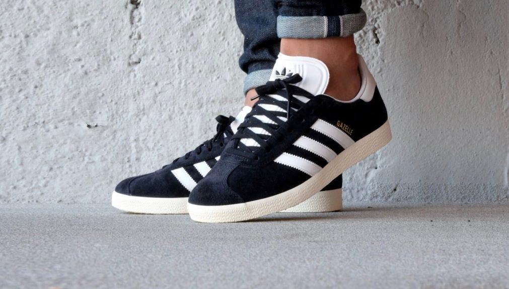 adidas gazelle black mens