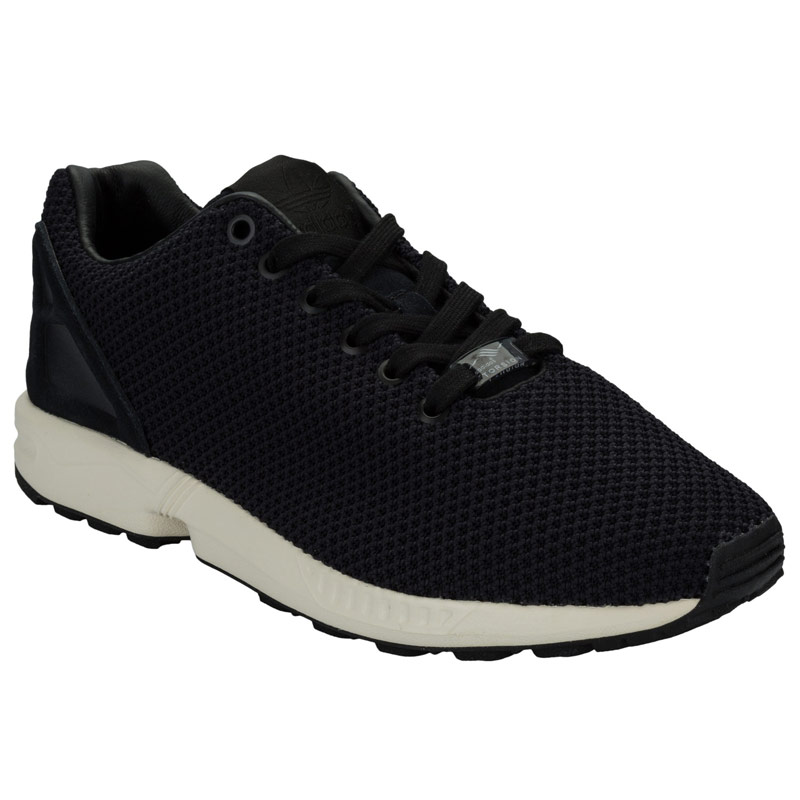 mens adidas khaki zx flux trainers